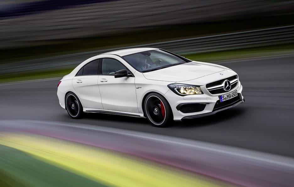 Mercedes CLA 45 AMG - In motion