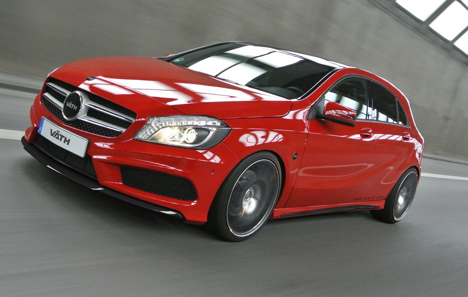 Mercedes Classe A by Vath - Profilo frontale in motion