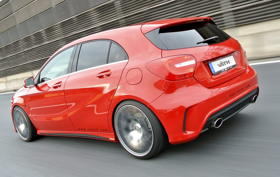 Mercedes Classe A by Vath - Profilo posteriore in motion