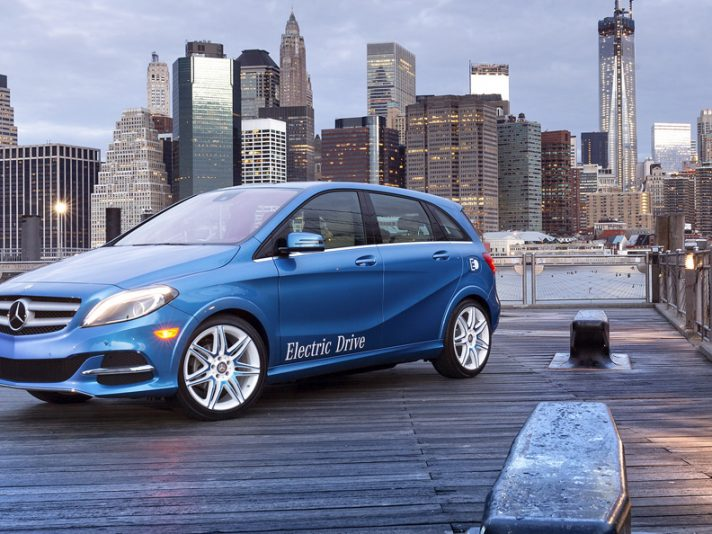 Mercedes Classe B Electric Drive: debutto a New York 2013