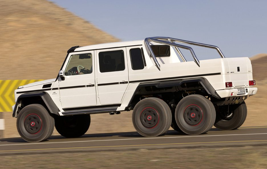 Mercedes G 63 AMG 6x6 - Il laterale