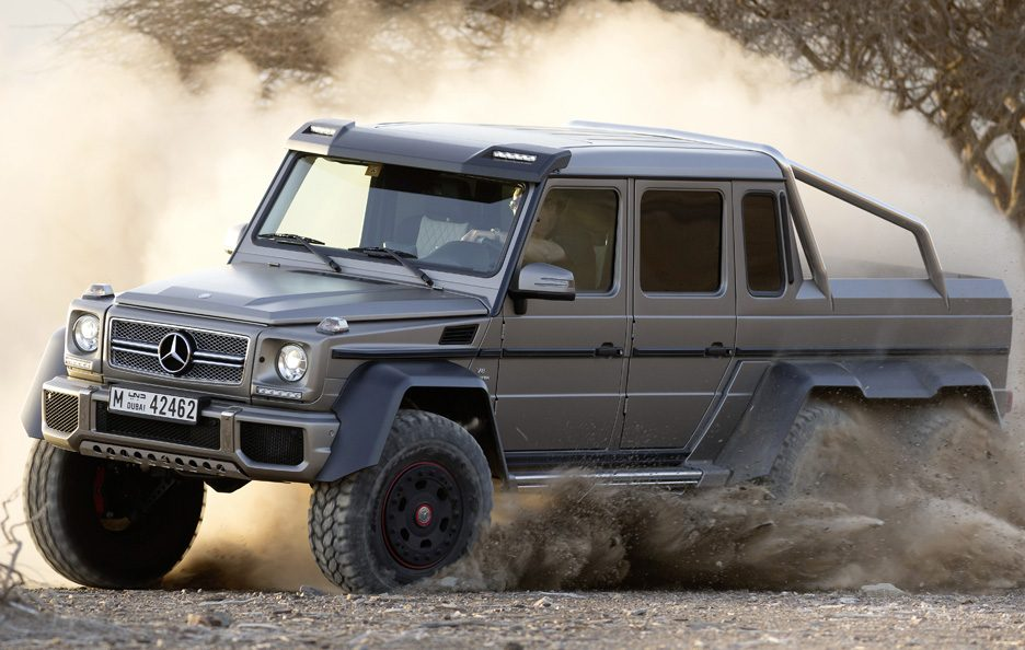 Mercedes G 63 AMG 6x6 - Laterale