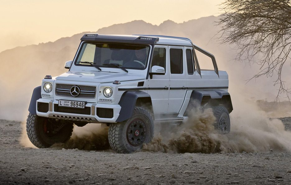 Mercedes G 63 AMG 6x6 - Linee