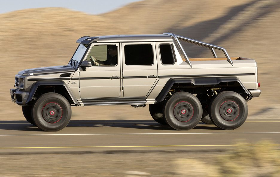 Mercedes G 63 AMG 6x6 - Profilo in motion