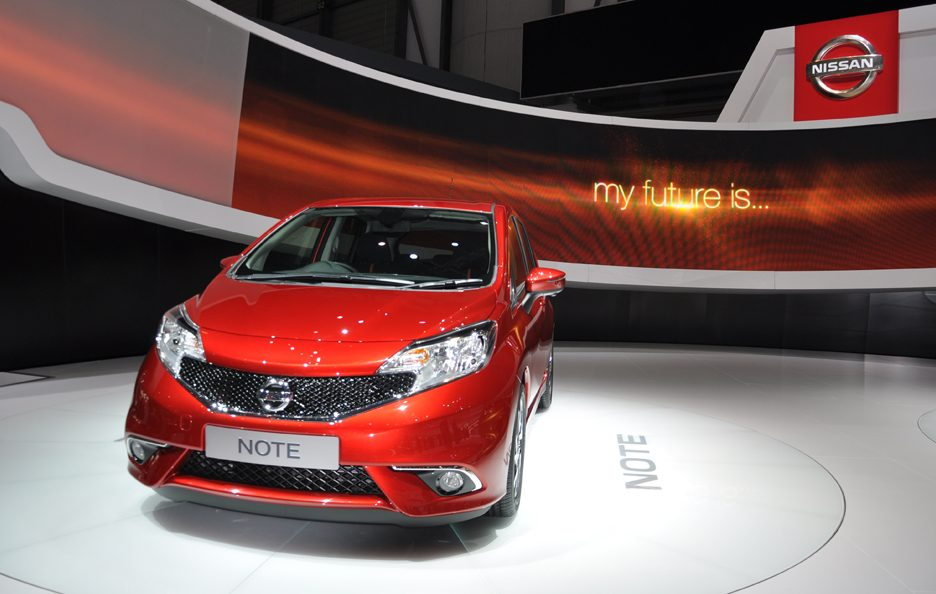 Nissan Note - Frontale - Ginevra 2013