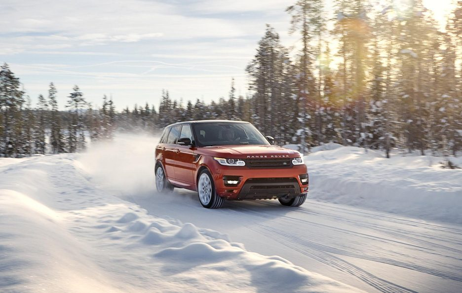 Range Rover Sport 2013 - Anteriore in motion