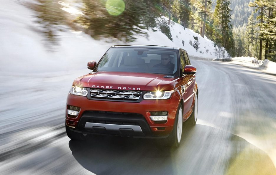 Range Rover Sport 2013 - Frontale in motion