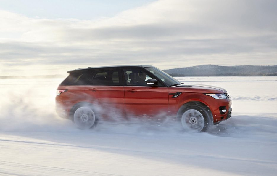 Range Rover Sport 2013 - Il laterale in motion