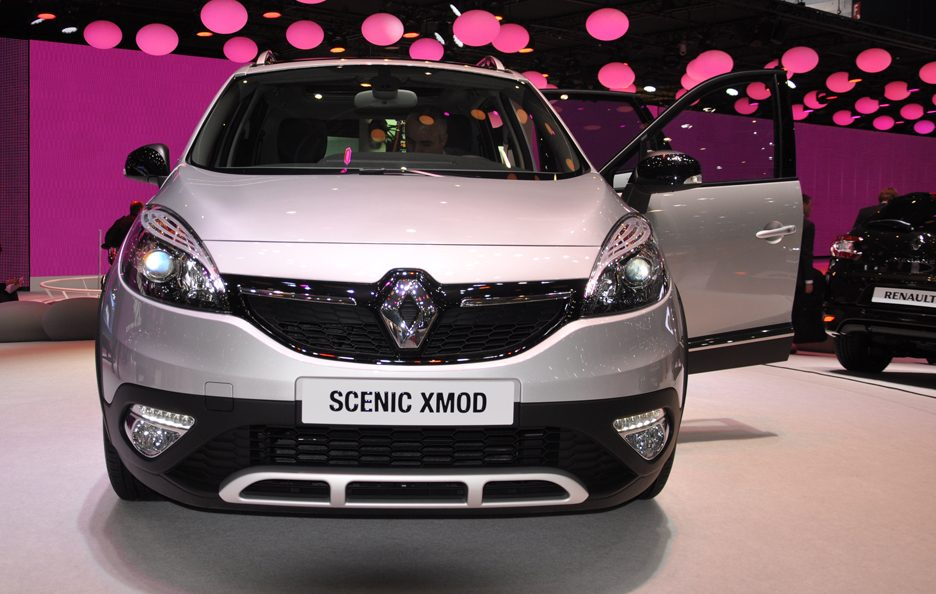 Renault Scenic Xmod - Frontale - Ginevra 2013