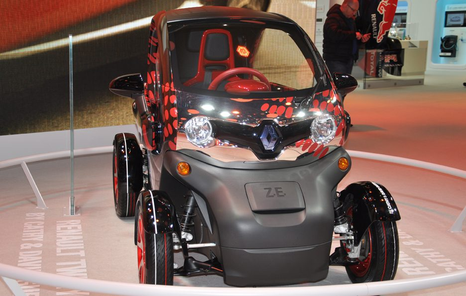 Renault Twizy - Posteriore - Ginevra 2013