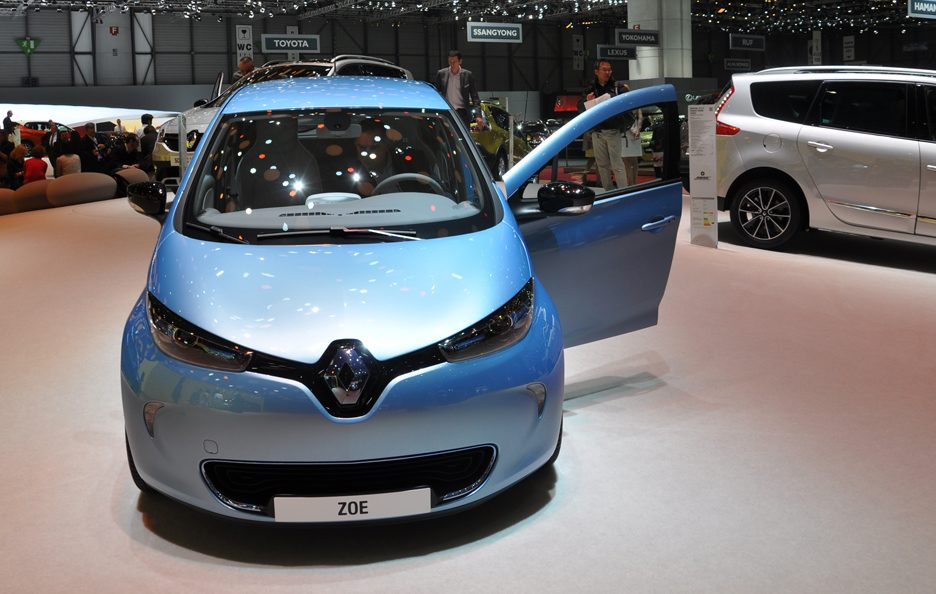 Renault Zoe - Frontale - Ginevra 2013