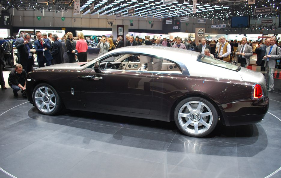 Rolls Royce Wraith - Laterale - Ginevra 2013