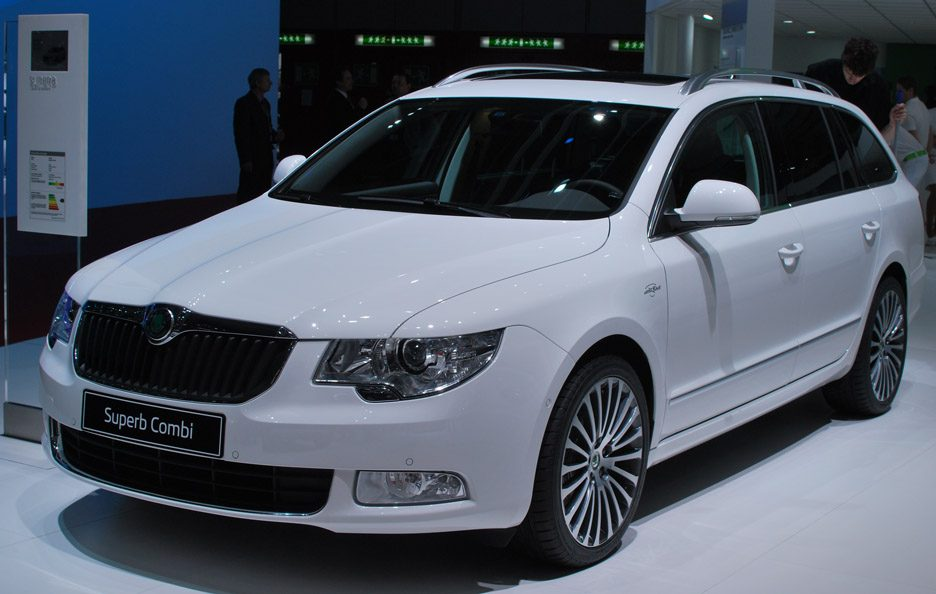 Skoda Superb Wagon - Ginevra 2013