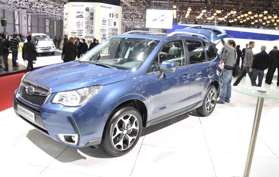 Subaru Forester – Frontale - Ginevra 2013