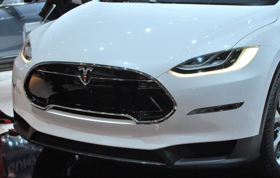 Tesla Model X - Mascherina - Ginevra 2013