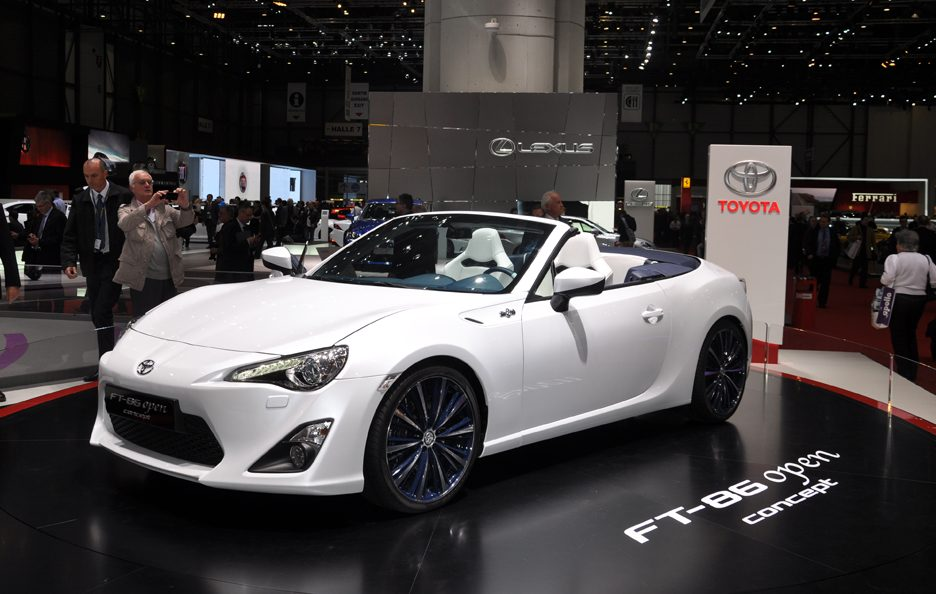 Toyota FT-86 Open Concept - Design - Ginevra 2013