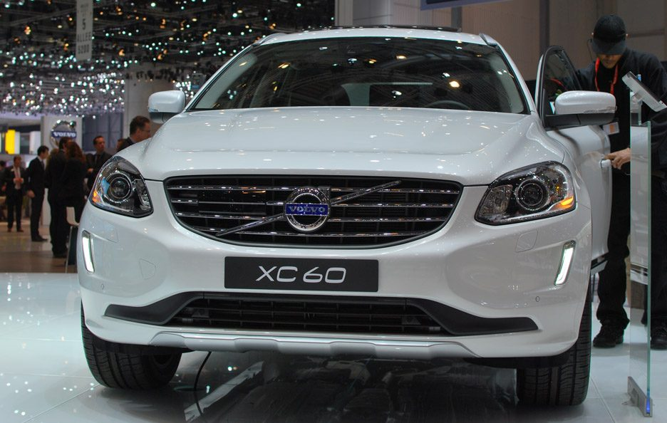 Volvo XC60 restyling - Frontale - Ginevra 2013