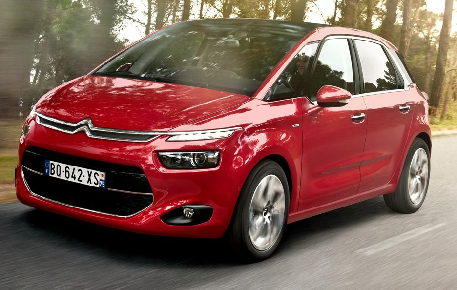 CItroen C4 Picasso 2013 - Frontale in motion