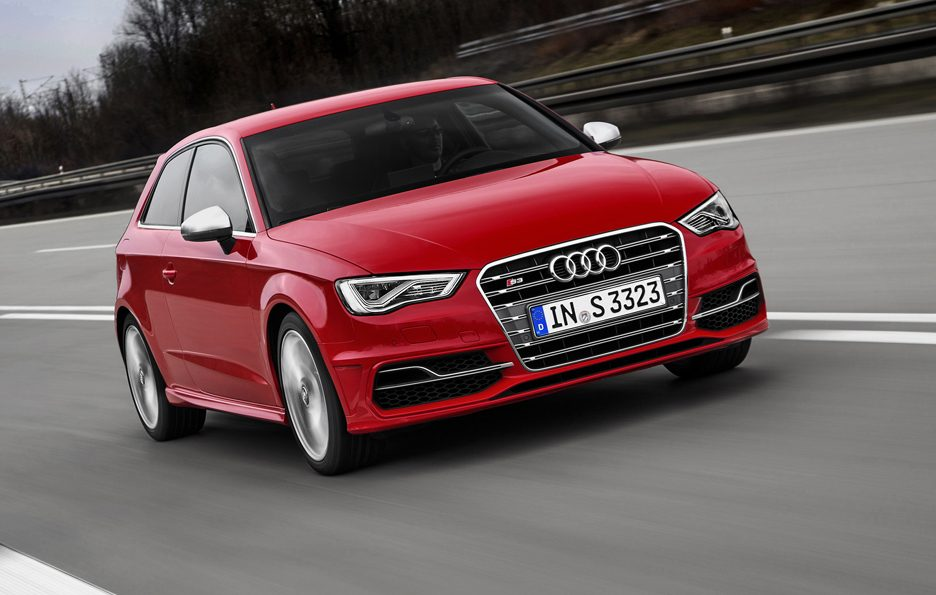 Audi S3 2013 - Frontale in motion