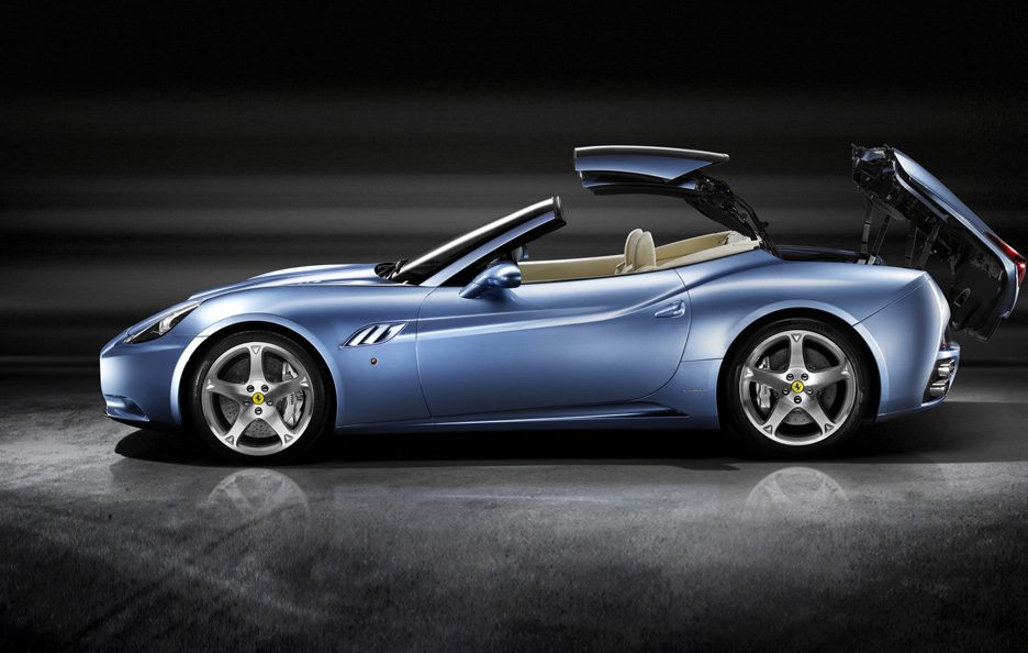 Ferrari California apertura tetto