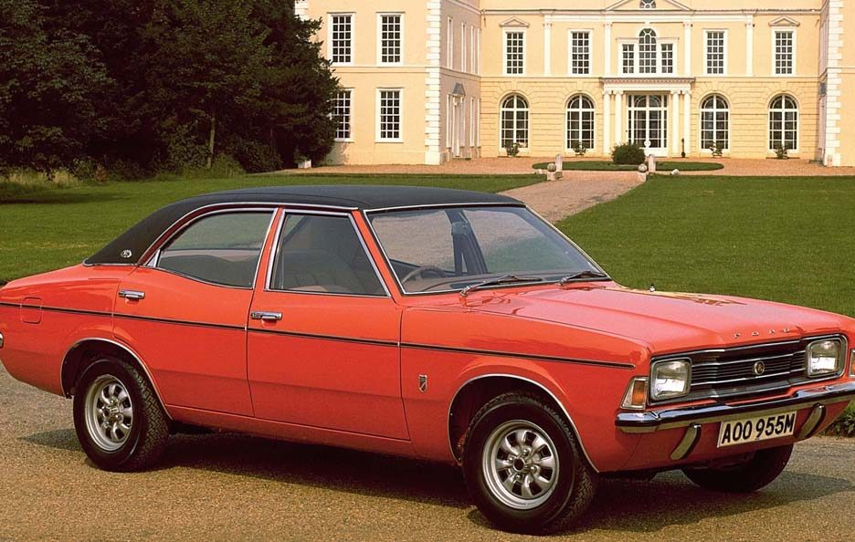 Ford Cortina Mark III restyling
