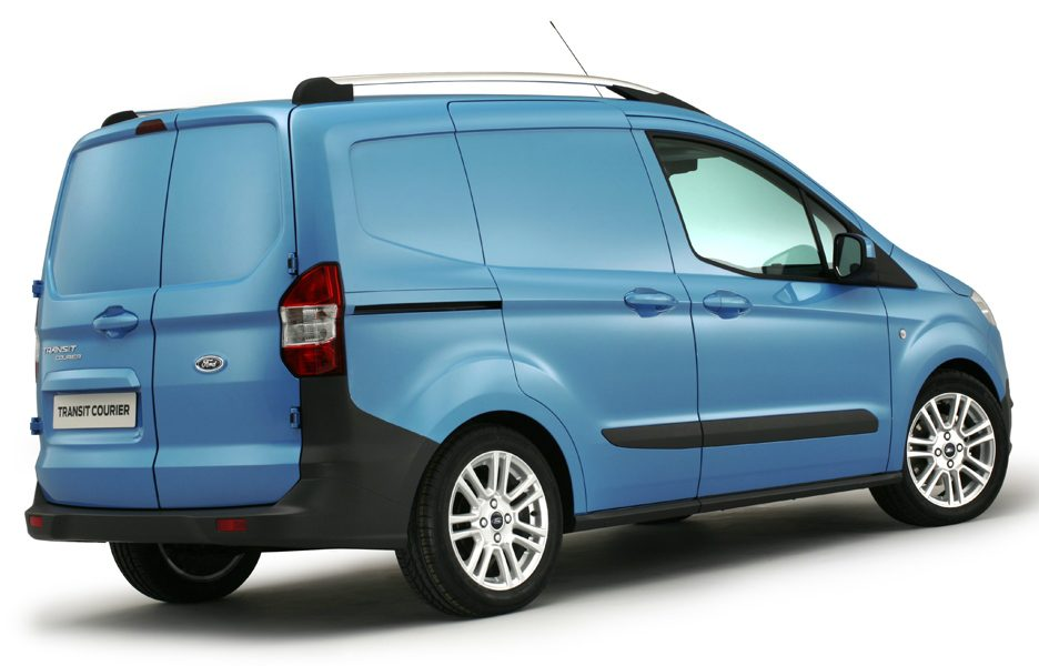 Ford Transit Courier - posteriore