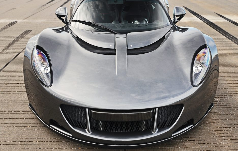 Hennessey Venom GT frontale