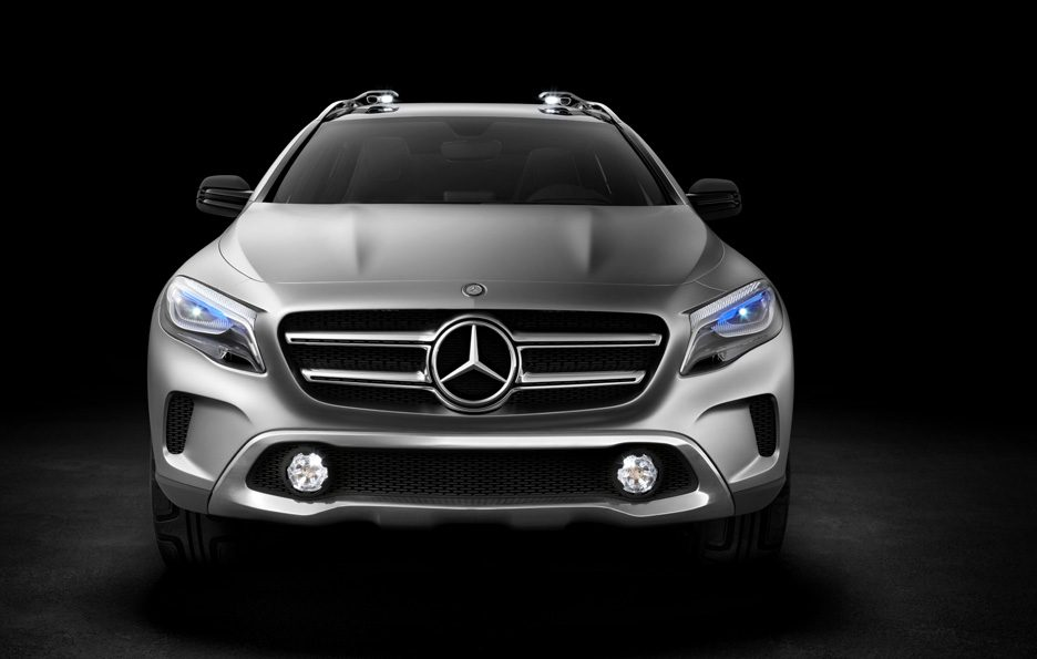Mercedes GLA Concept - Frontale