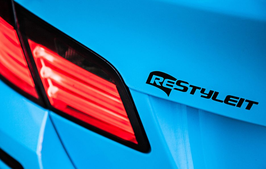 Olympic Blue BMW F10 M5 by Restyle It