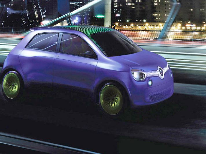 Renault Twin'Z Concept - In motion