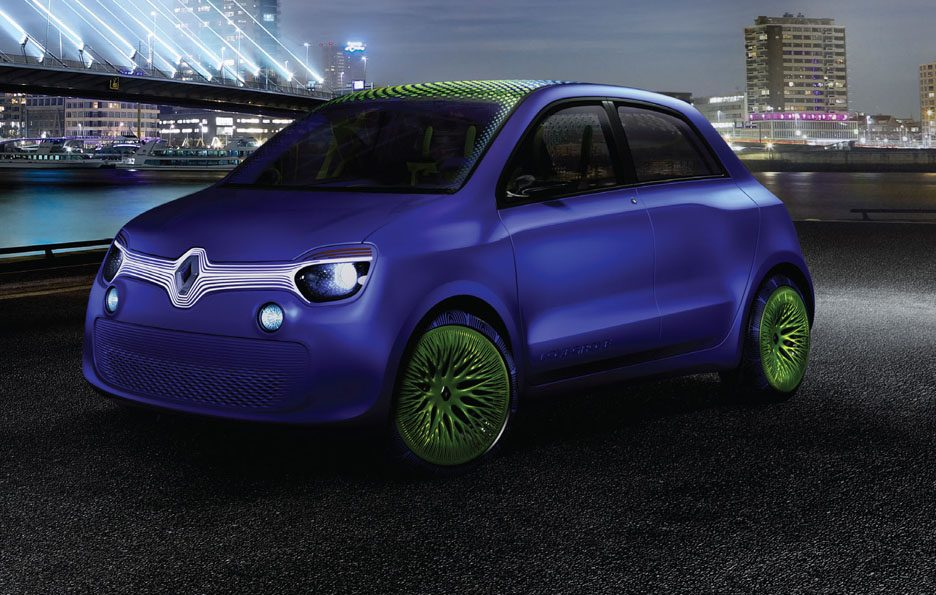 Renault Twin'Z Concept - Linee