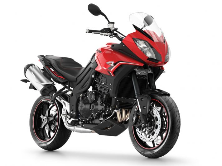 Triumph Tiger Sport MY13 - Diablo Red & Phantom Black