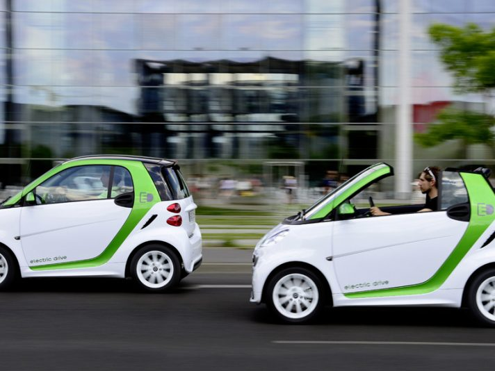 Smart fortwo electric drive, il debutto in cina