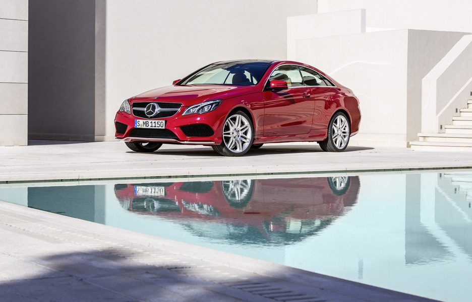 Mercedes-Benz Classe E Coupè - Stile
