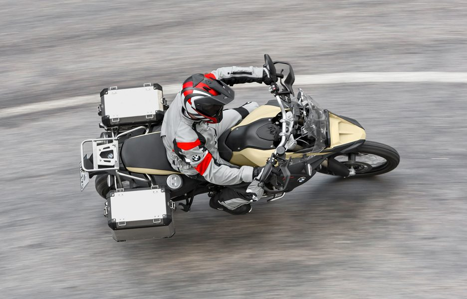 BWM F 800 GS Adventure - Dall'alto