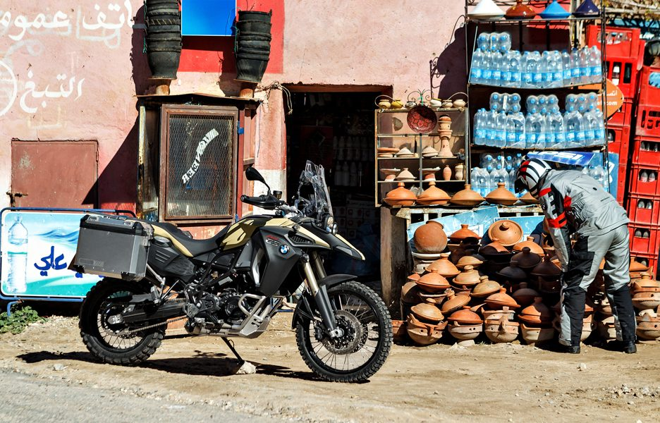 BWM F 800 GS Adventure - Stile