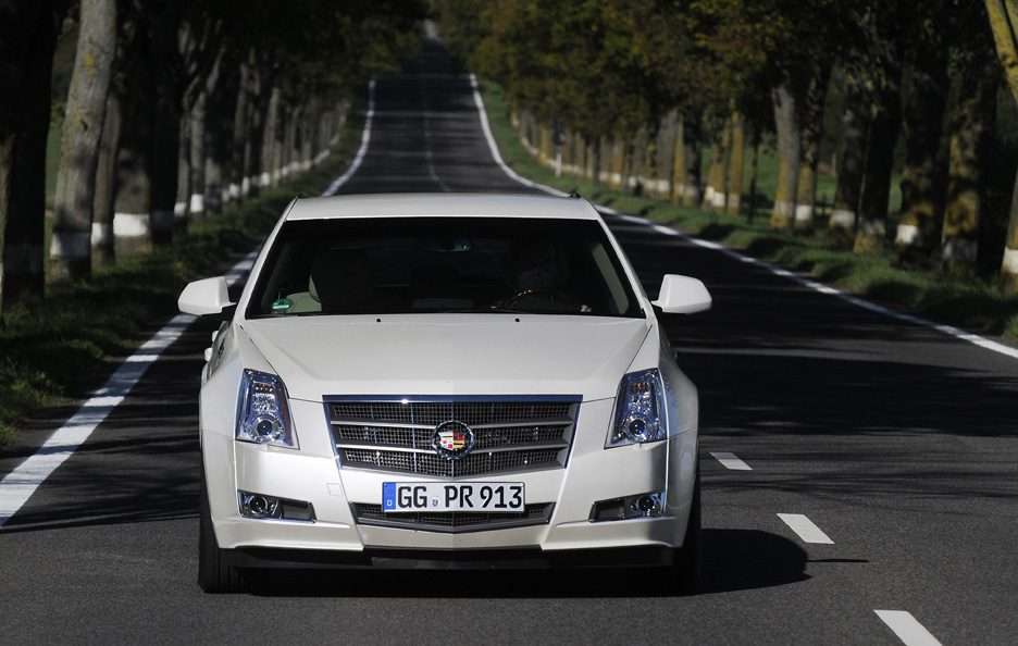 Cadillac CTS SW frontale