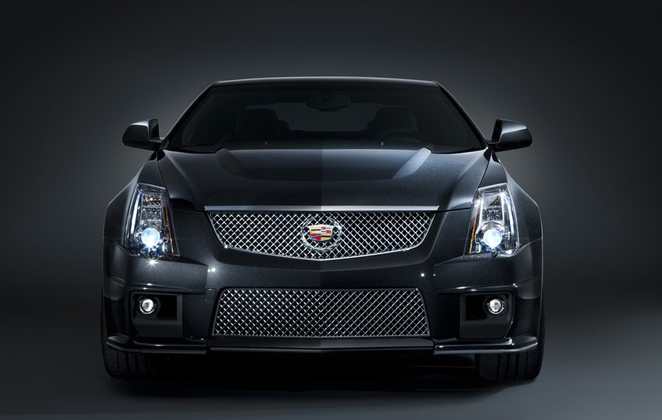 Cadillac CTS-V Coupé frontale
