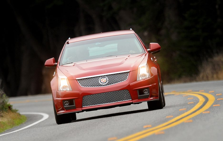 Cadillac CTS-V SW frontale