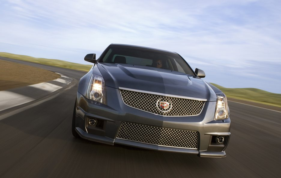 Cadillac CTS-V frontale