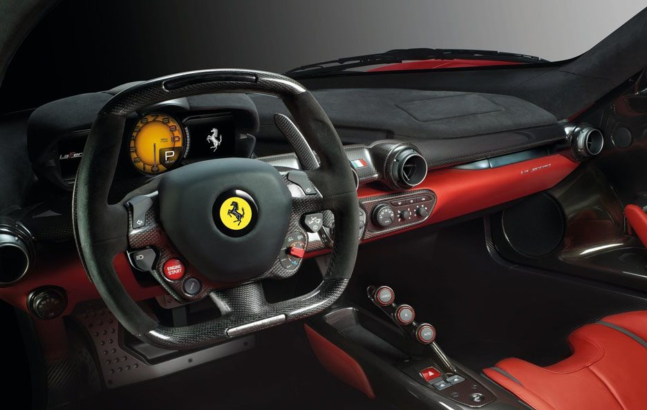 Ferrari LaFerrari interni