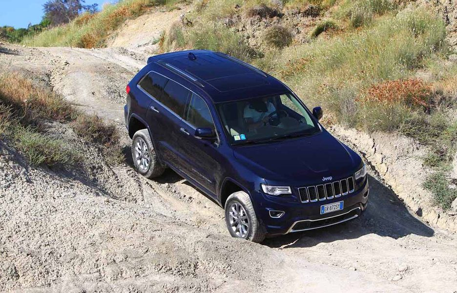 Jeep Grand Cherokee - Off road