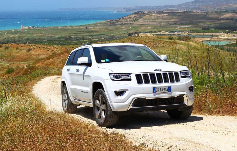 Jeep Grand Cherokee Overland - Frontale
