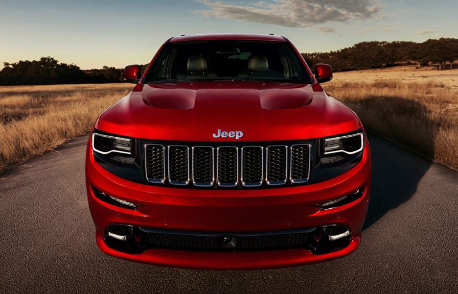 Jeep Grand Cherokee SRT - Frontale