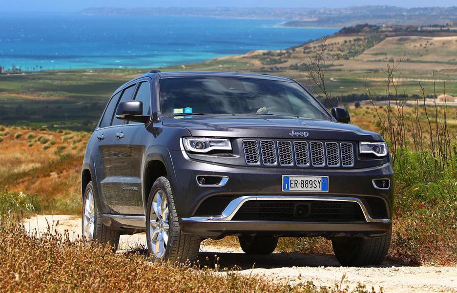 Jeep Grand Cherokee Summit - Frontale