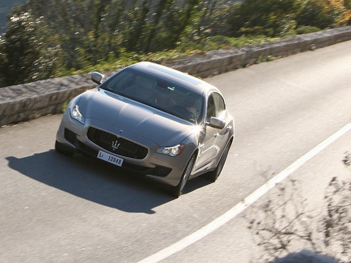 "Maserati Quattroporte: ""Best of the Best Sedan"""