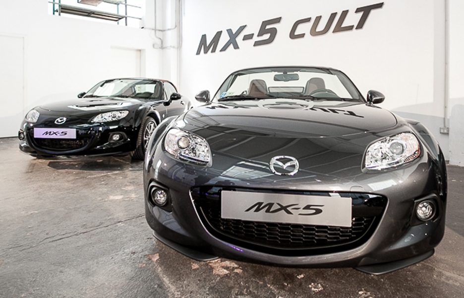 Mazda MX-5 CULT - Frontale