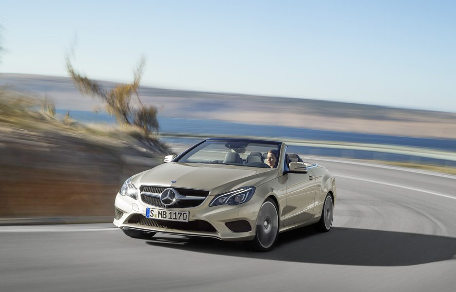 Mercedes-Benz Classe E Cabriolet - In motion