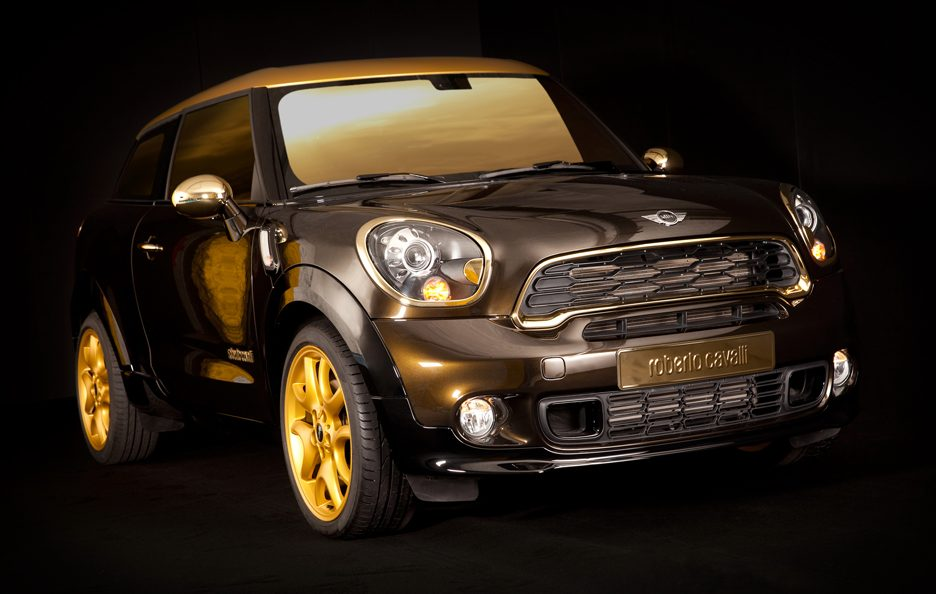 Mini Paceman Life Ball by Roberto Cavalli
