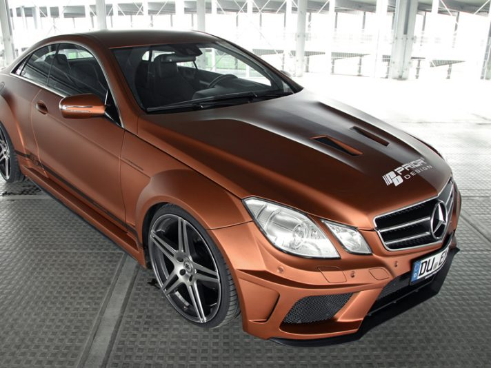 Classe E Coupé, tuning by Prior Design